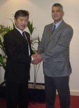 Master Nicholls and GM Choi