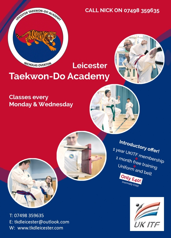 Leicester Taekwondo_a5 flyer-Call Nick_with 3mm bleed edge (1)